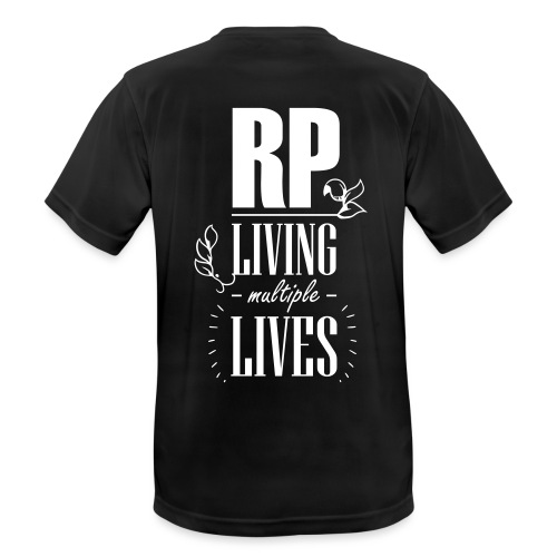 Role play - Living multiple lives - Herre T-shirt svedtransporterende