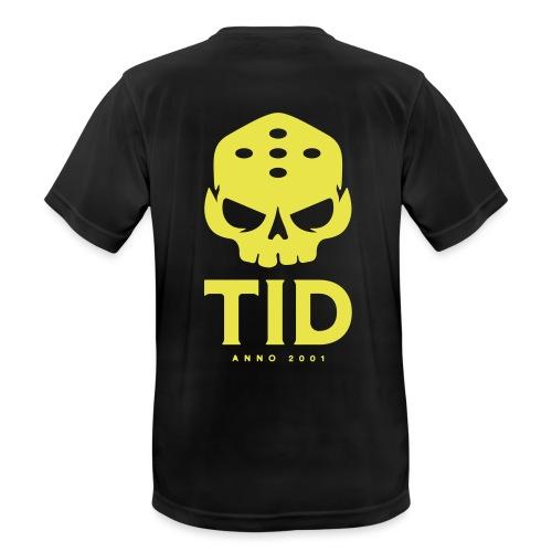 TID tryck rygg - Andningsaktiv T-shirt herr