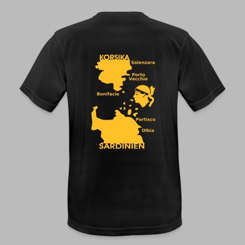 Korsika Sardinien Mori - Männer T-Shirt atmungsaktiv