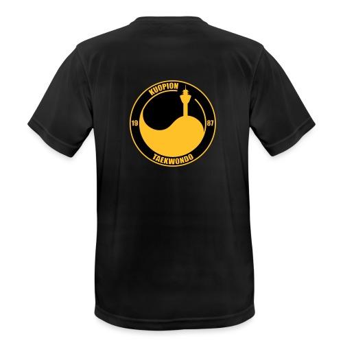 kuotkd vector - miesten tekninen t-paita