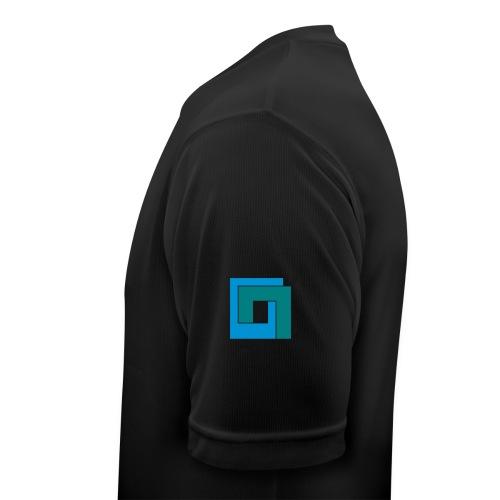 duana-net-logo-b-c - Männer T-Shirt atmungsaktiv