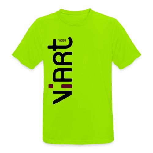 ViArt asbl Logo - Männer T-Shirt atmungsaktiv