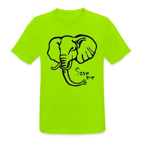 Afrika-Elefant I Save me - Männer T-Shirt atmungsaktiv