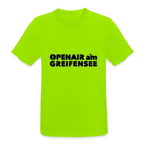 Openair am Greifensee 2018 - Männer T-Shirt atmungsaktiv