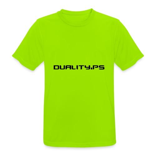 dualitypstext - Andningsaktiv T-shirt herr