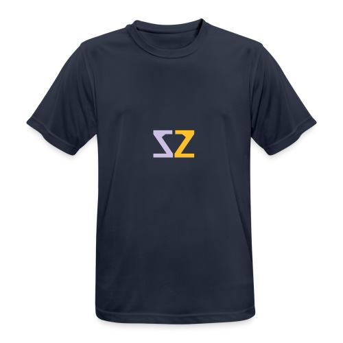 Logo ZZ - Maglietta da uomo traspirante