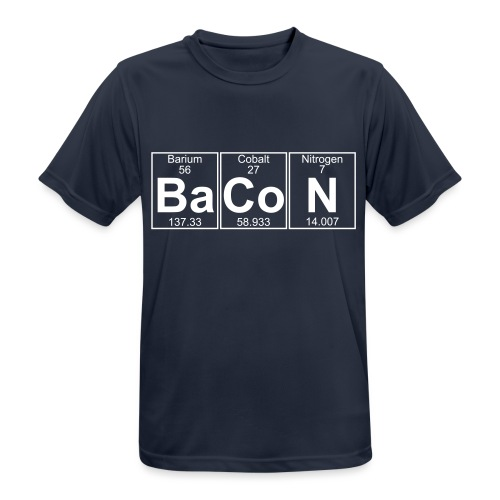 Ba-Co-N (bacon) - Full - Men's Breathable T-Shirt