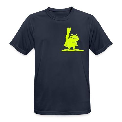 Kapuzenjacke mit Lime - Männer T-Shirt atmungsaktiv
