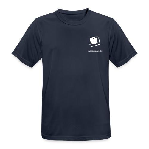 WBS Front Vektor - Männer T-Shirt atmungsaktiv