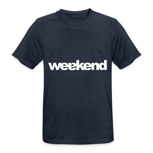 weakend - Männer T-Shirt atmungsaktiv