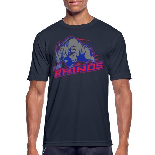 Raging Rhinos - Männer T-Shirt atmungsaktiv
