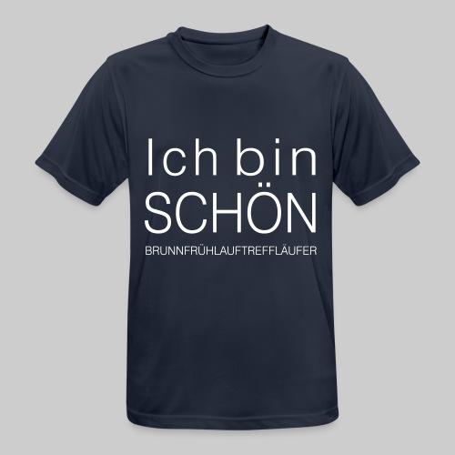 Ich bin Schön Mann - Männer T-Shirt atmungsaktiv