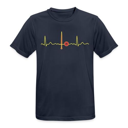 HEMA-Hartbeat - Männer T-Shirt atmungsaktiv