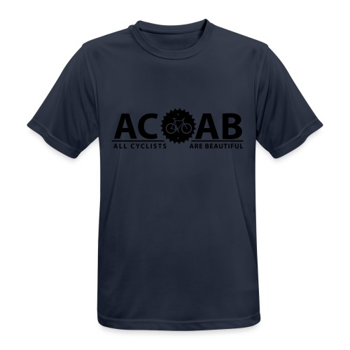 ACAB All Cyclists Are Beautiful T-Shirts - Männer T-Shirt atmungsaktiv