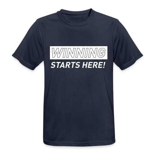 GYM_T_5A - Men's Breathable T-Shirt