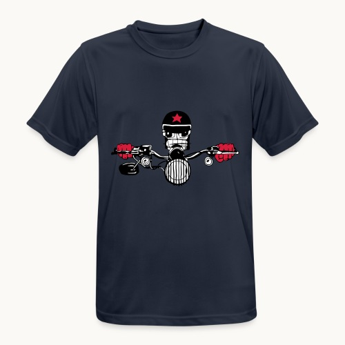 Motard Micky on the Road - T-shirt respirant Homme