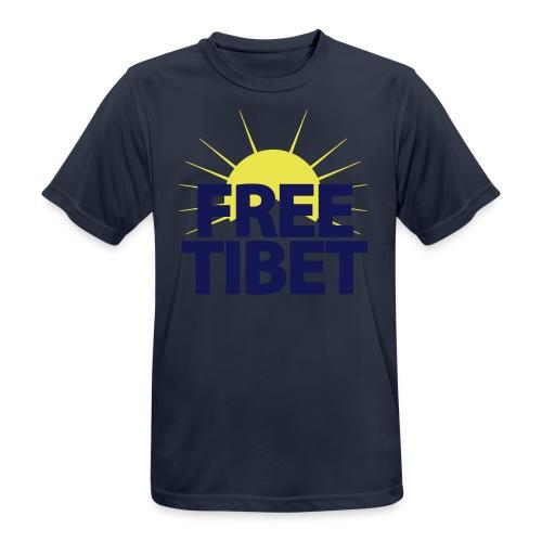 Free-Tibet Team Tibet - Männer T-Shirt atmungsaktiv