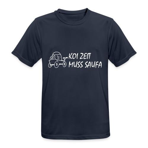 KoiZeit Saufa - Männer T-Shirt atmungsaktiv