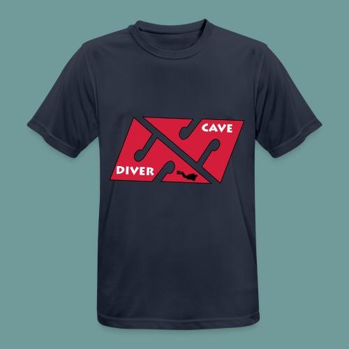 cave_diver_01 - T-shirt respirant Homme
