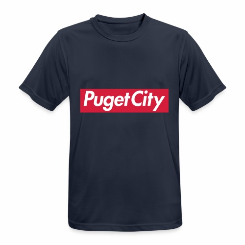 PugetCity - T-shirt respirant Homme