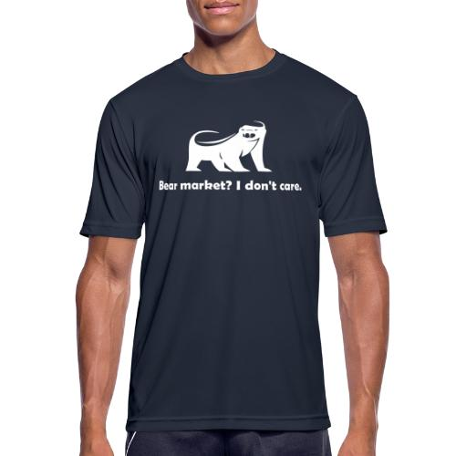 CryptoFR I don't care - T-shirt respirant Homme