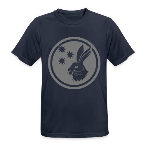 Reilinger Hase im Kreis - Männer T-Shirt atmungsaktiv