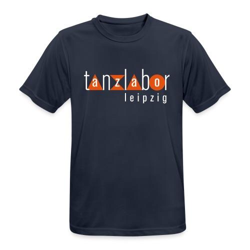 Tanzlabor Leipzig Logo - Männer T-Shirt atmungsaktiv