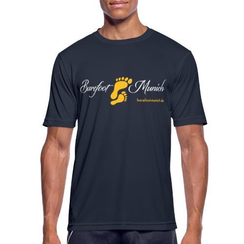 barefoot munich - Männer T-Shirt atmungsaktiv