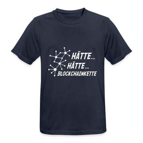 Blockchainkette - Männer T-Shirt atmungsaktiv