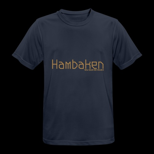 Hambaken Plasmatic Regular - Mannen T-shirt ademend actief