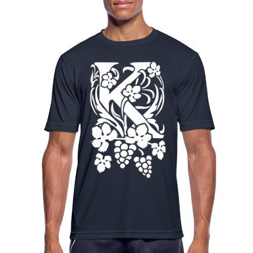 Karneid Monogram - Men's Breathable T-Shirt