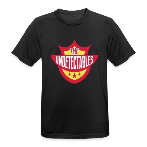 Undetectables voorkant - Mannen T-shirt ademend actief