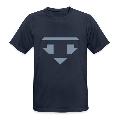 Twanneman logo Reverse - Mannen T-shirt ademend actief