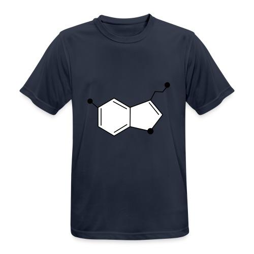 Serotonine - Maglietta da uomo traspirante