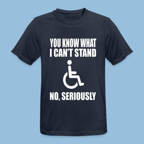 Can tstand1 - mannen T-shirt ademend