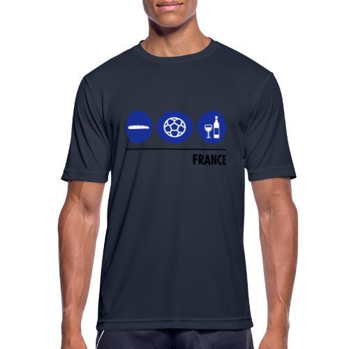 Circles - France - Men's Breathable T-Shirt