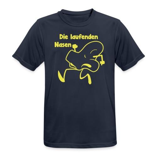 laufende Nasen - Men's Breathable T-Shirt