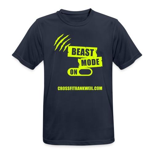 Beast mode on - Männer T-Shirt atmungsaktiv