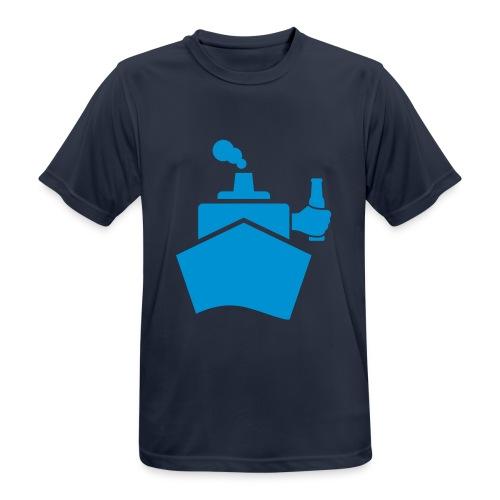 King of the boat - Männer T-Shirt atmungsaktiv