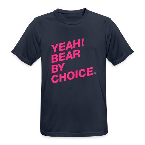 Yeah Bear by Choice - Männer T-Shirt atmungsaktiv
