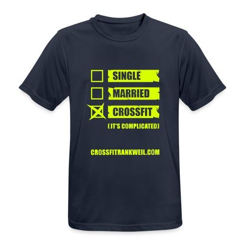 Single Married - Männer T-Shirt atmungsaktiv
