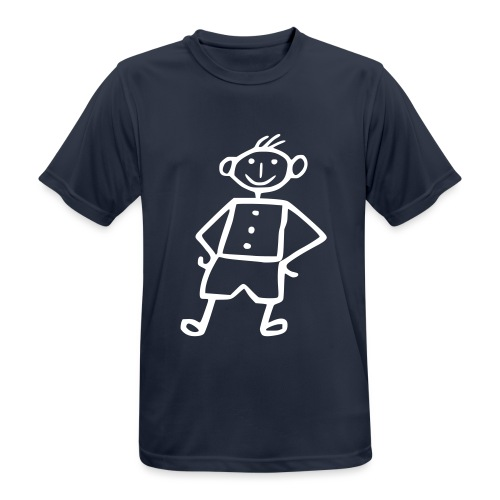 me-white - Männer T-Shirt atmungsaktiv