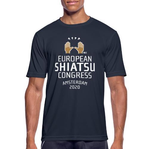 ESC logo - Mannen T-shirt ademend actief