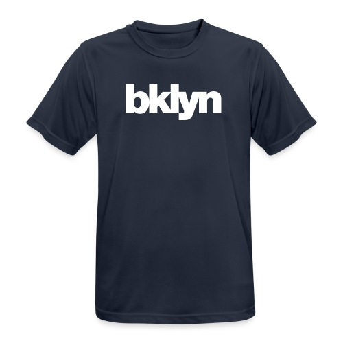 bklyn logo - Men's Breathable T-Shirt