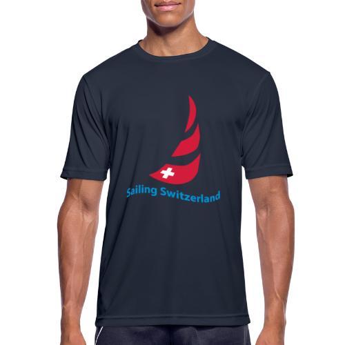 logo sailing switzerland - Männer T-Shirt atmungsaktiv