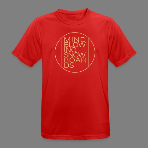 Circle - Männer T-Shirt atmungsaktiv