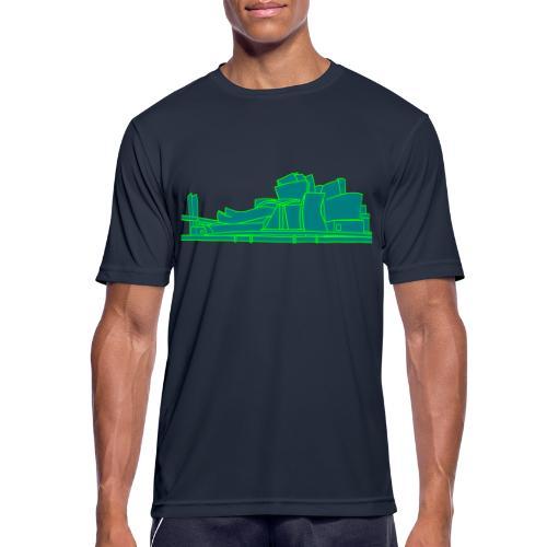 Guggenheimmuseum Bilbao 2 - Männer T-Shirt atmungsaktiv