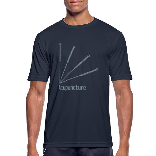 Acupuncture Eventail vect - T-shirt respirant Homme