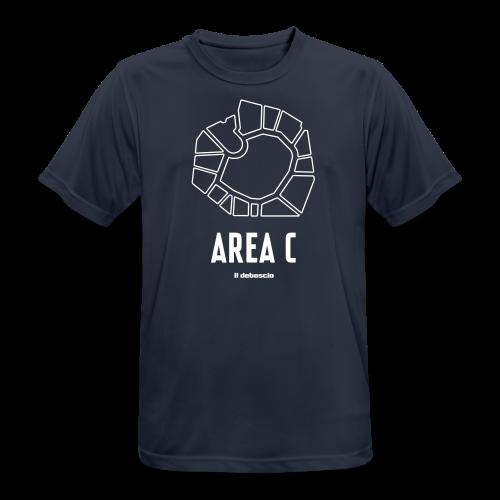 AREA C - Maglietta da uomo traspirante