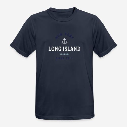NEW YORK - LONG ISLAND - Maglietta da uomo traspirante